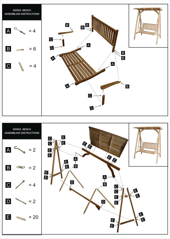 hollywoodschaukel bauanleitung. Black Bedroom Furniture Sets. Home Design Ideas