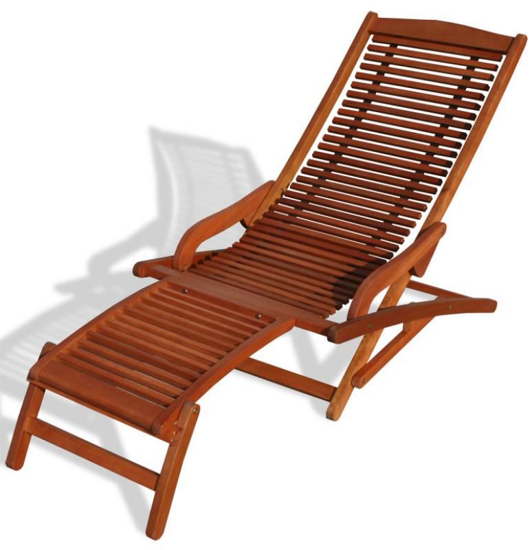 Relax Liege King Fsc Eukalyptus 101904 Liegen Garten