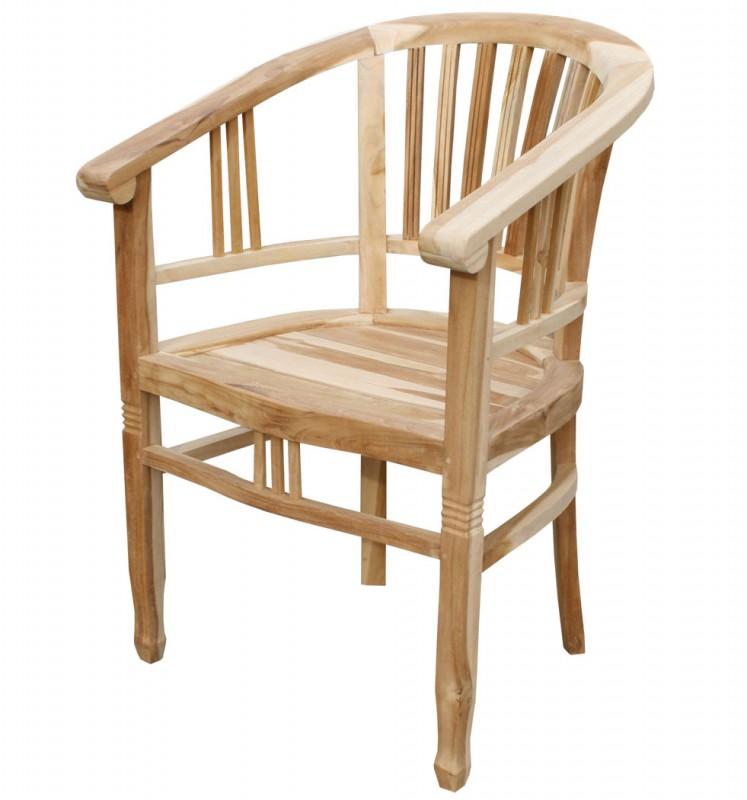 teak stuhl colonial king 102052 st hle sessel garten kmh shop. Black Bedroom Furniture Sets. Home Design Ideas