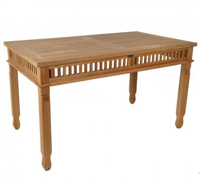 Teak Tisch *Colonial* 140x80 cm (#102055)