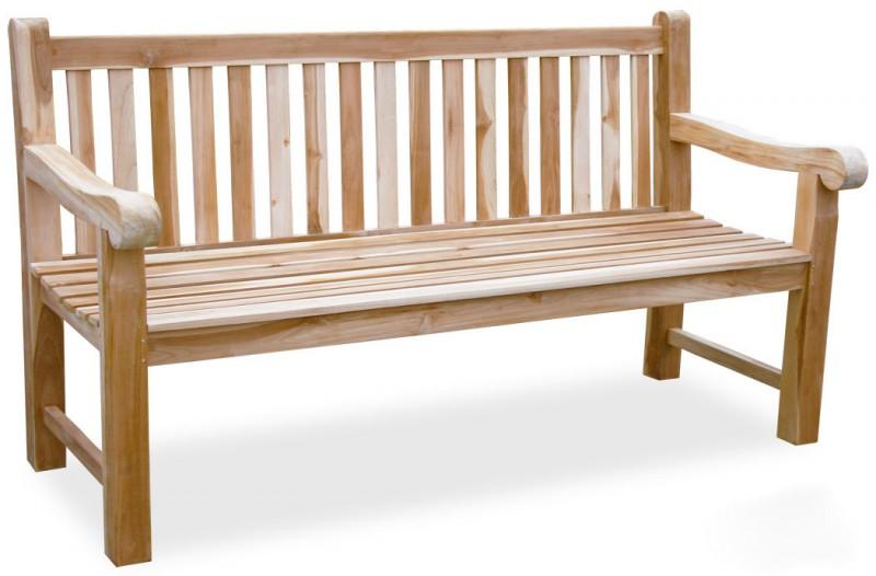 4 sitzer teak bank balmoral 102063 b nke garten kmh shop. Black Bedroom Furniture Sets. Home Design Ideas