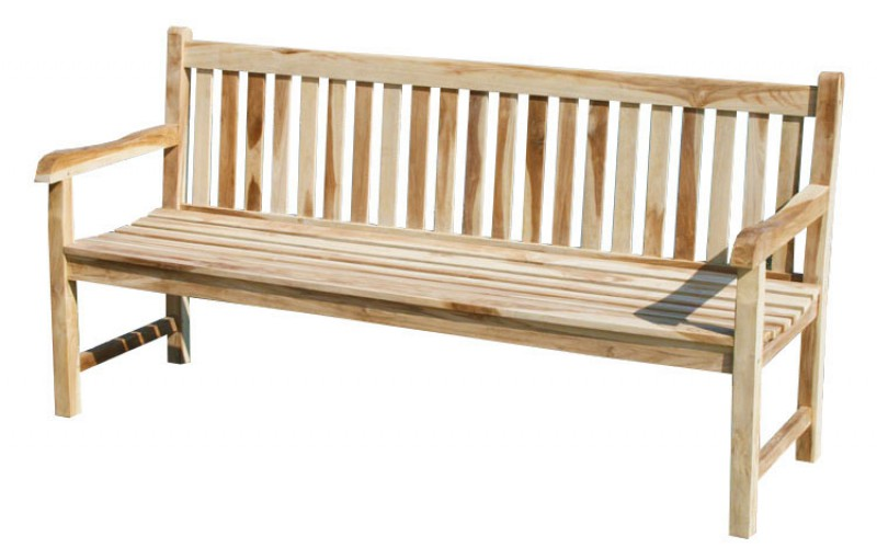 teak 4 sitzer gartenbank classic 102088 garten kmh shop. Black Bedroom Furniture Sets. Home Design Ideas