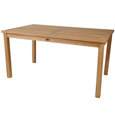 TEAK Gartentisch rechteckig 150*90cm (#102115)