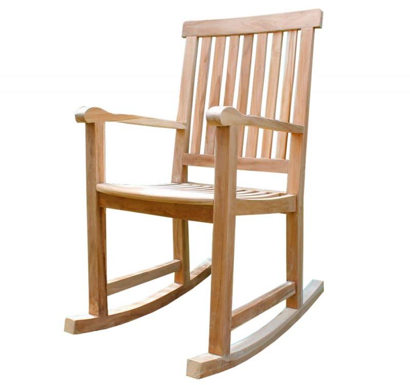 teak schaukelstuhl leon 102123 st hle sessel garten kmh shop. Black Bedroom Furniture Sets. Home Design Ideas