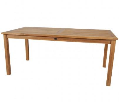 TEAK Gartentisch rechteckig 180*90cm (#102130)