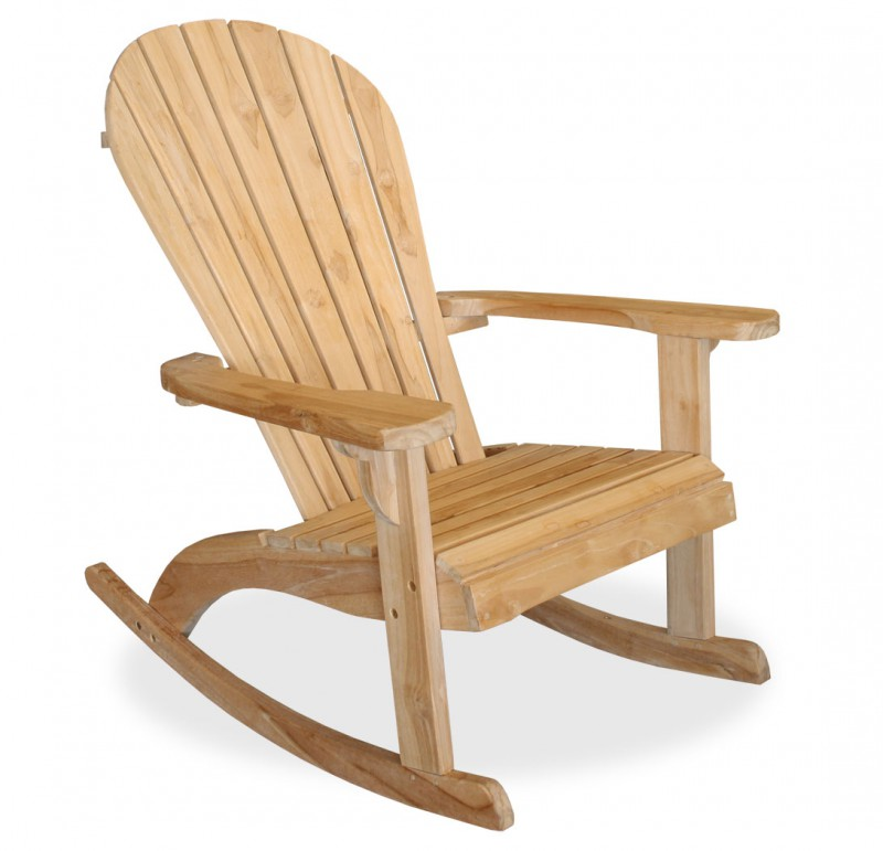 teak schaukelstuhl adirondack 102149 st hle sessel garten kmh shop. Black Bedroom Furniture Sets. Home Design Ideas
