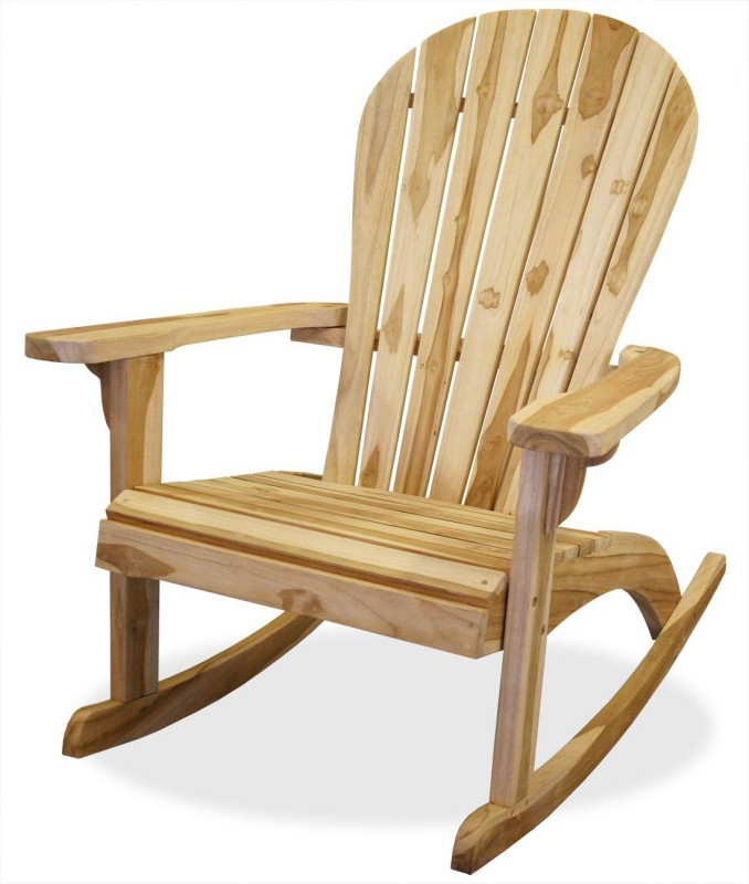 teak schaukelstuhl adirondack 102149 st hle sessel garten kmh shop. Black Bedroom Furniture Sets. Home Design Ideas