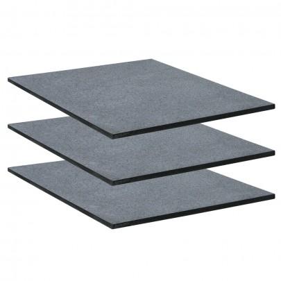3er Set massive Granitplatten (#103058)