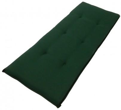 Sitzauflage (grün) für 2er Gartenbank (#105064)