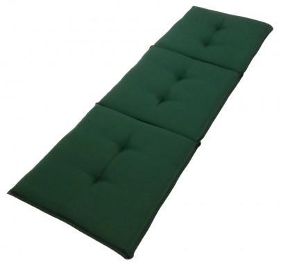 Sitzauflage (grün) für 3er Gartenbank (#105065)