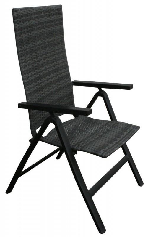 polyrattan hochlehner fabiola grau 106087 st hle sessel garten kmh shop. Black Bedroom Furniture Sets. Home Design Ideas