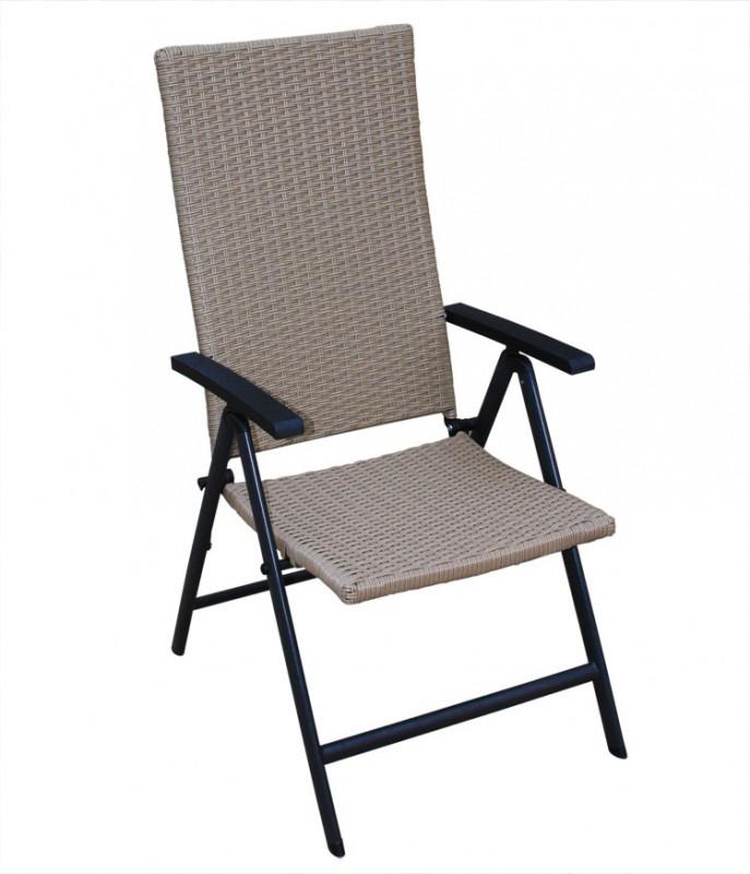 polyrattan hochlehner fabiola braun 106092 st hle sessel garten kmh shop. Black Bedroom Furniture Sets. Home Design Ideas