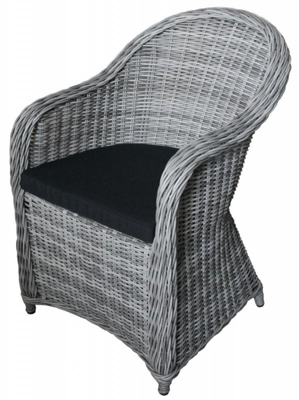 Gartensessel polyrattan grau  Einzigartig Polyrattan Stühle