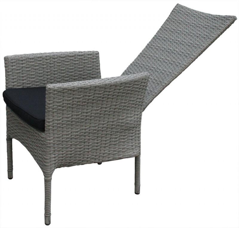 polyrattan hochlehner tjorben grau 106142 st hle sessel garten kmh shop. Black Bedroom Furniture Sets. Home Design Ideas