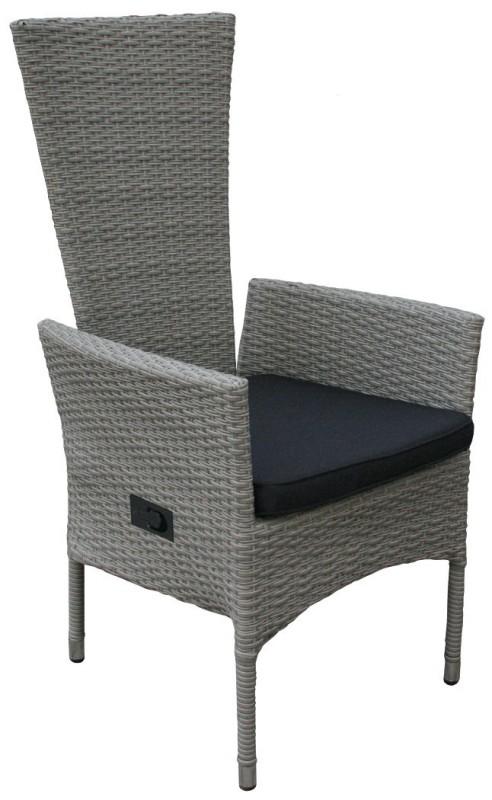4er set hochlehner tjorben grau 106257 sitzgruppen sets garten kmh shop. Black Bedroom Furniture Sets. Home Design Ideas