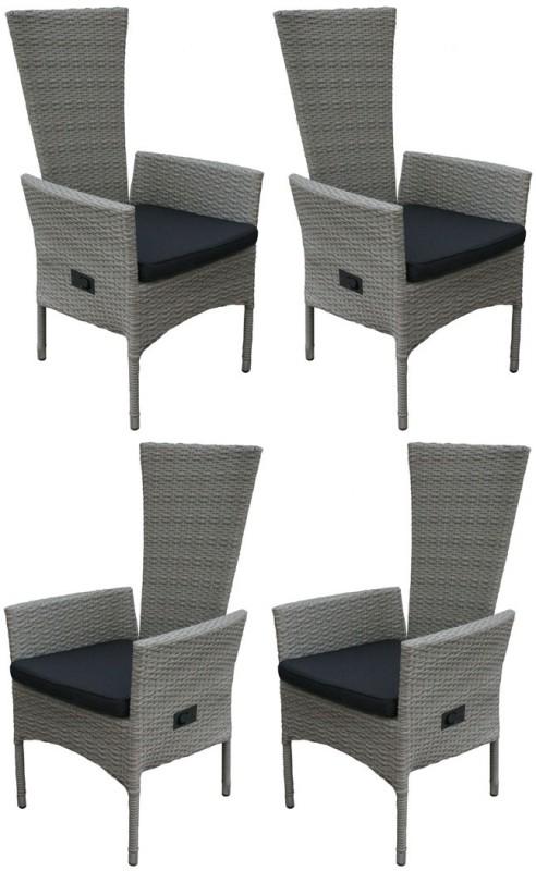 4er set hochlehner tjorben grau 106257 sitzgruppen. Black Bedroom Furniture Sets. Home Design Ideas