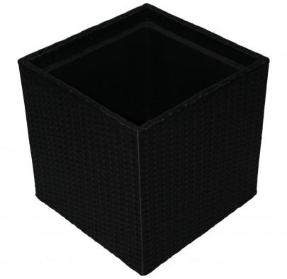 Polyrattan Pflanzkübel L (#106301)