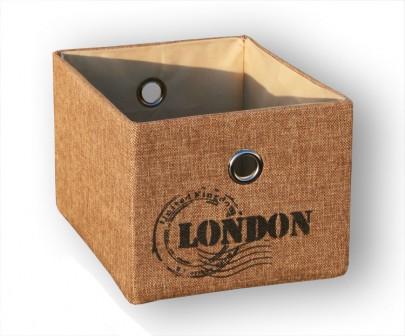 Schrankkorb *Traveller* London - Natur (#204120)