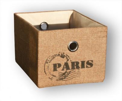 Schrankkorb *Traveller* Paris - Natur (#204123)