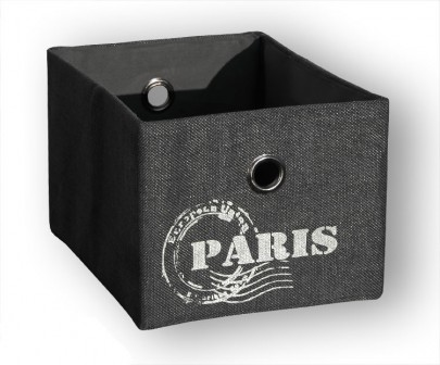 Schrankkorb *Traveller* Paris - Grau (#204127)