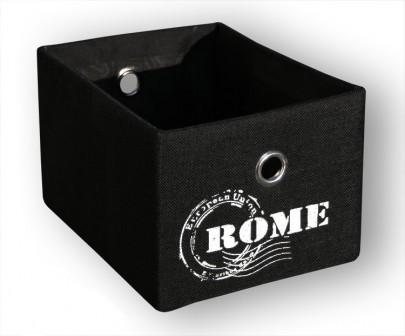 Schrankkorb *Traveller* Rome - Schwarz (#204129)