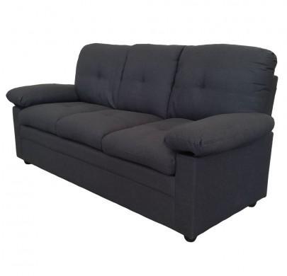 3-sitzer Sofa *Wismar* dunkelgrau (#204692)