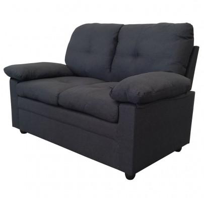 2-sitzer Sofa *Wismar* dunkelgrau (#204693)