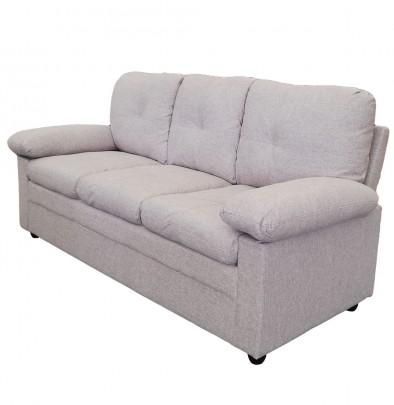 3-sitzer Sofa *Wismar* hellgrau (#204695)