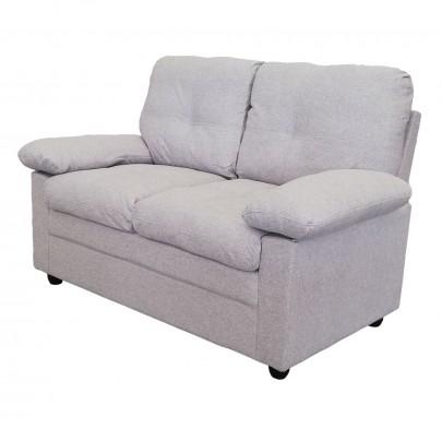 2-sitzer Sofa *Wismar* hellgrau (#204696)