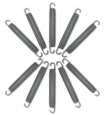 10er Set Ersatzfedern für Trampoline 180 mm (#301089)
