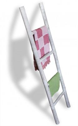 lio bambus leiter 150 weiss 400040 sonstiges bad kmh shop. Black Bedroom Furniture Sets. Home Design Ideas