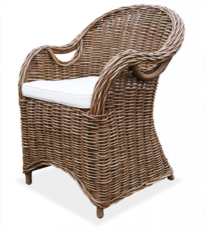 lio rattansessel athen braun 400183 sitzm bel wohnen kmh shop. Black Bedroom Furniture Sets. Home Design Ideas