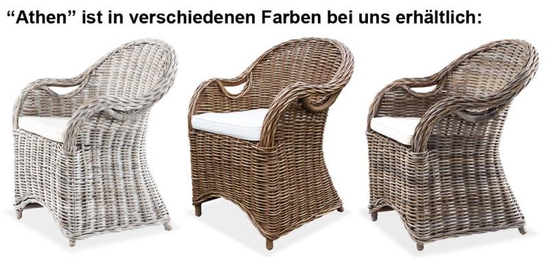 Lio Rattansessel Athen Grau 400184 Sitzmöbel Wohnen Kmh Shop