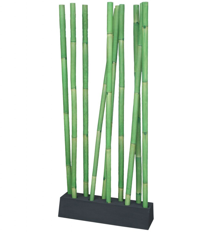 LIO Bambus Raumteiler grün/schwarz (#400203) | Deko | Aufbewahrung ...