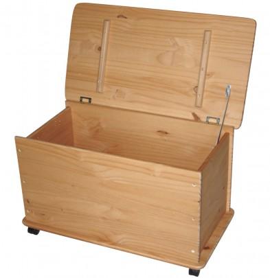 Holz Spielzeugkiste GELAUGT (#800077)