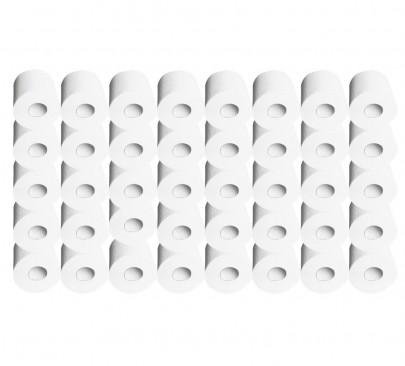 40 Rollen Toilettenpapier *Zefir* 3-lagig á 250 Blatt (#800179)