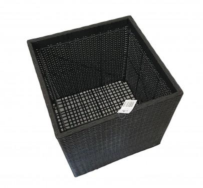 Polyrattan Pflanzkübel XL *B-Ware* (#811132)